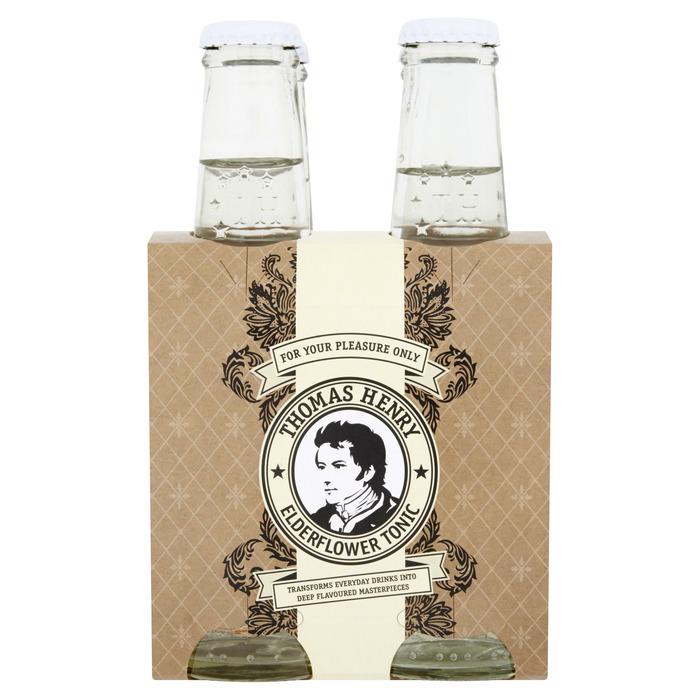 Thomas Henry Elderflower Tonic (glas, 200ml)