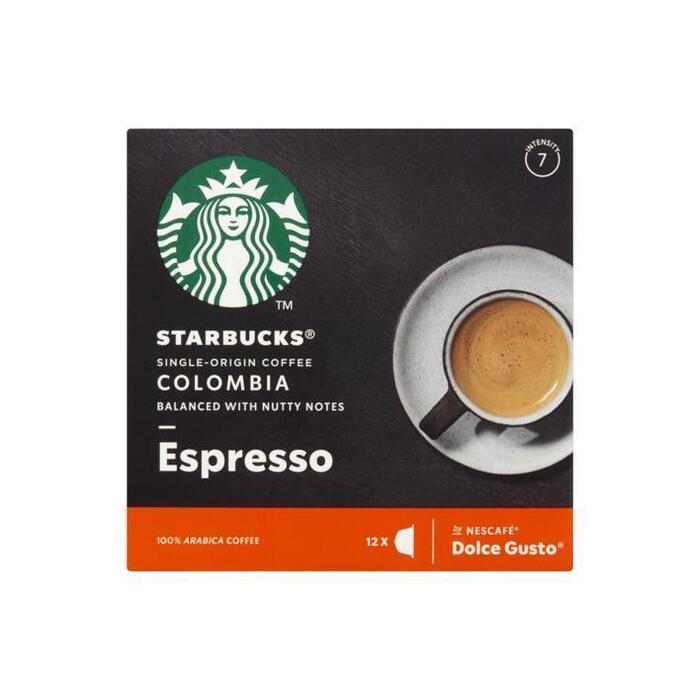 Starbucks Dolce Gusto single origin colombia (12 × 66g)