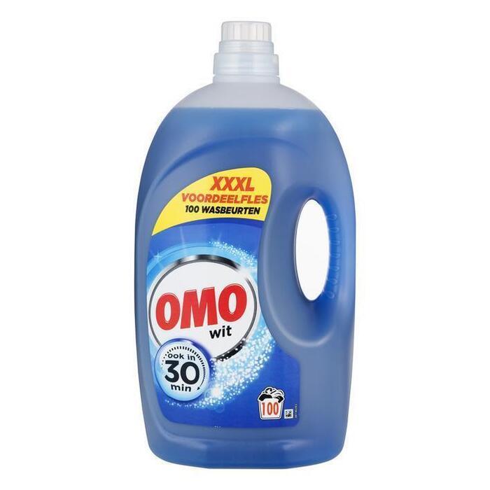 Omo Vloeibaar wasmiddel wit (5L)