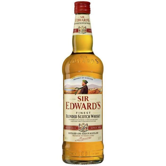 Sir Edwards Blended Scotch whisky (rol, 100 × 1L)
