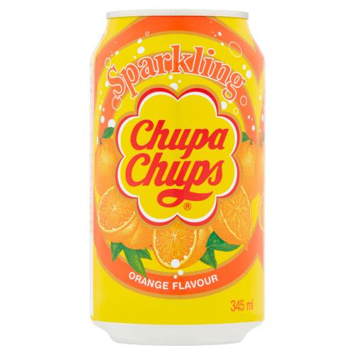 Chupa Chups Sparkling Orange Flavour 345 ml (34.5cl)