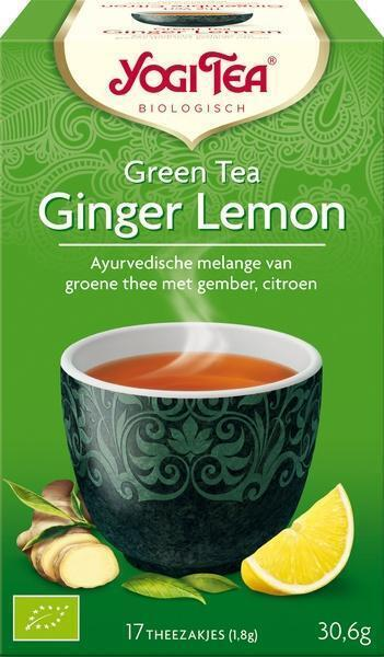 Green Tea Ginger Lemon (17 zakjes) (builtje, 17 × 1.8g)
