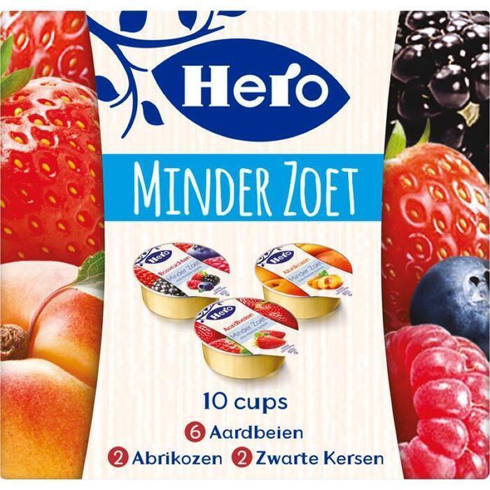 Hero Jam minder zoet (10 × 200g)