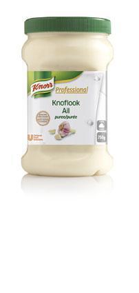 Knorr Professional Knoflook Puree (2 × 750g)