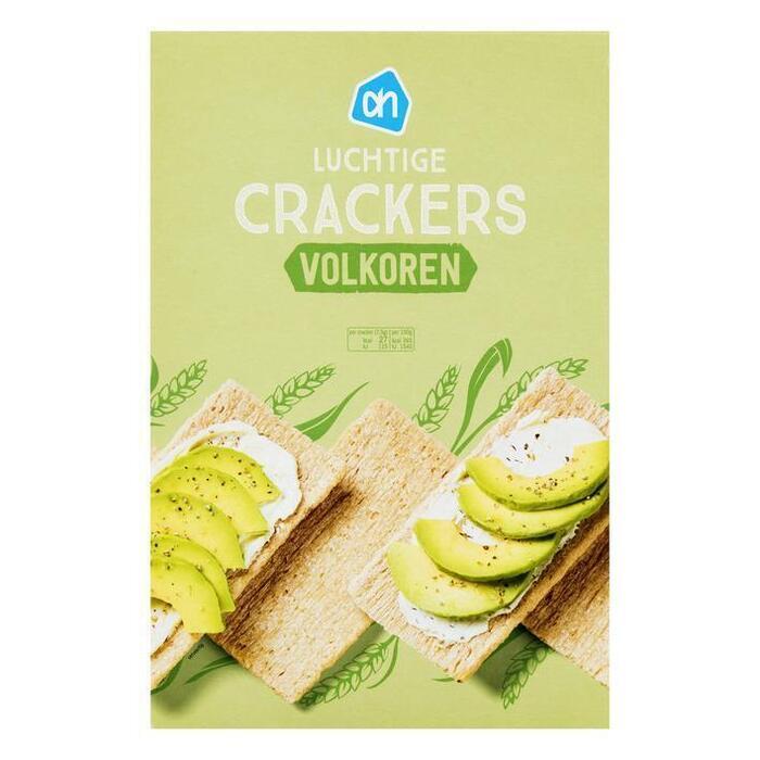 Luchtige crackers volkoren (doos, 250g)