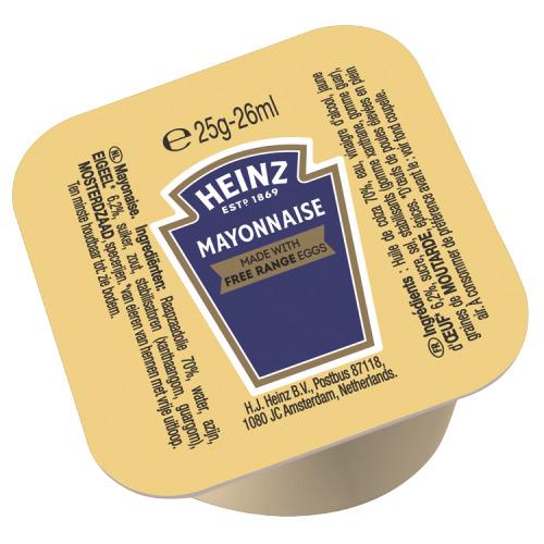 Heinz Mayonnaise 100 x 25 g (25g)