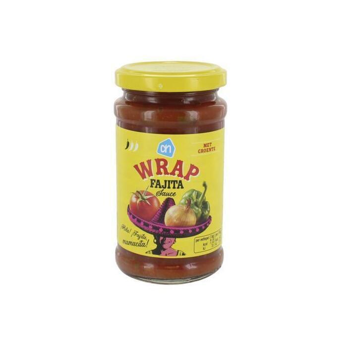 Wrap sauce fajita (glas, 230g)