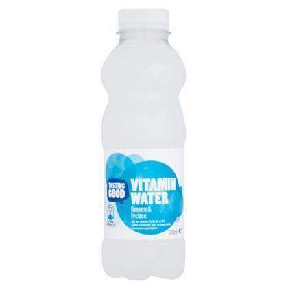 Tasting Vitamin water limoen lychee (0.5L)