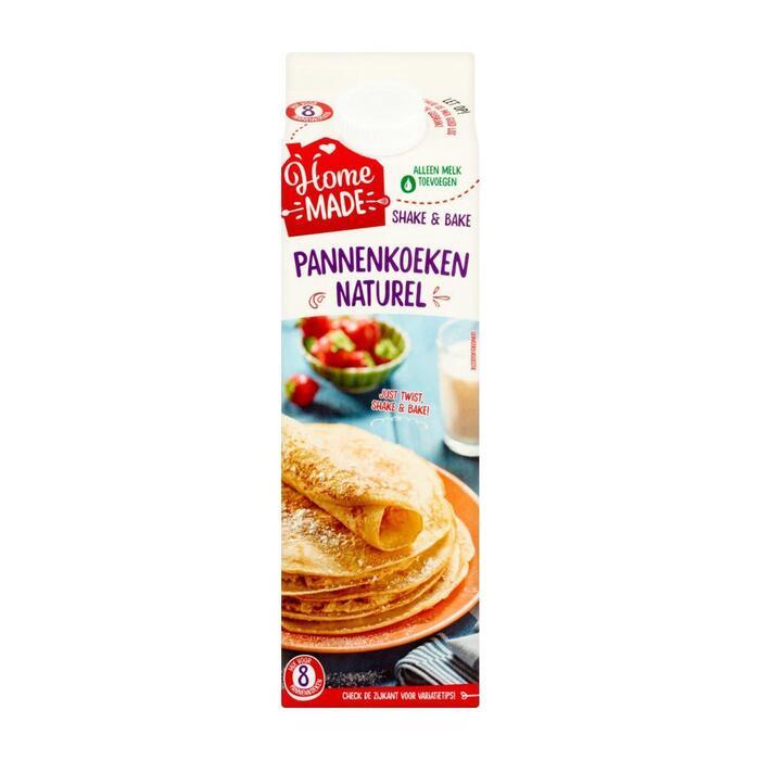 HomeMade Shake & Bake Mix voor Pannenkoeken Naturel 285 grm (285g)