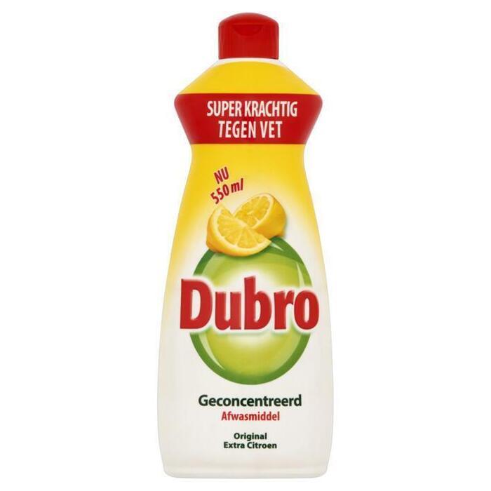 Afwasmiddel extra citroen (Stuk, 0.55L)