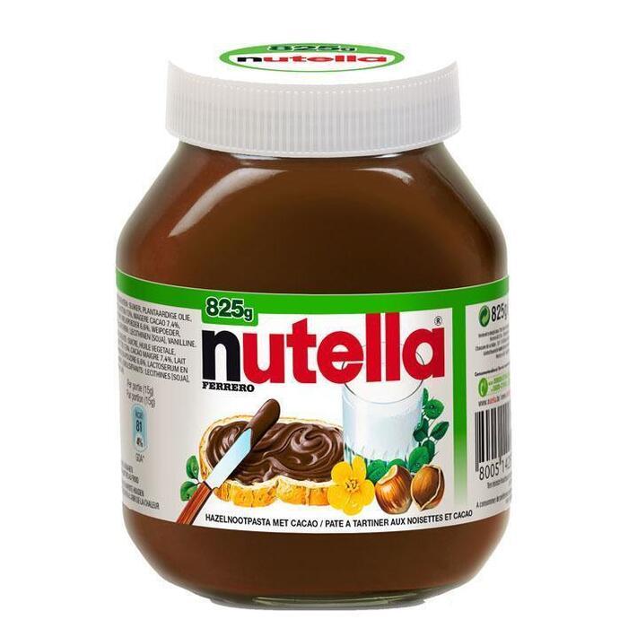 Nutella Family Pack (Stuk, 825g)
