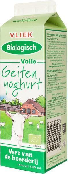 Geitenyoghurt (0.5L)