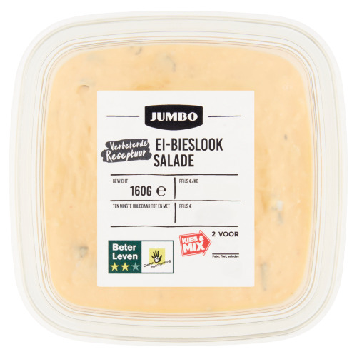 Jumbo Ei-Bieslook Salade 160 g (160g)
