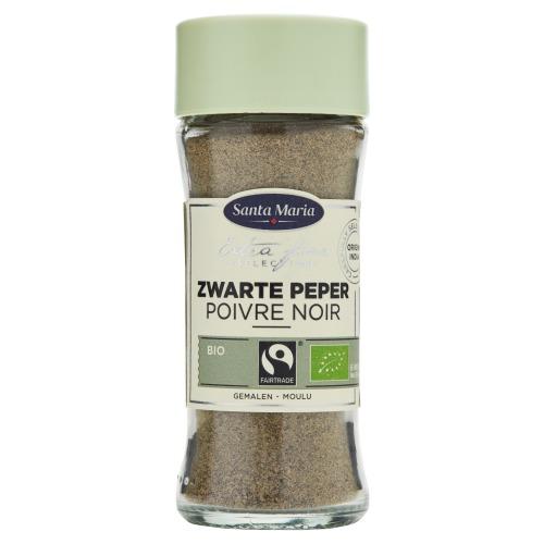 Santa Maria Zwarte Peper Bio Gemalen 36 g (36g)