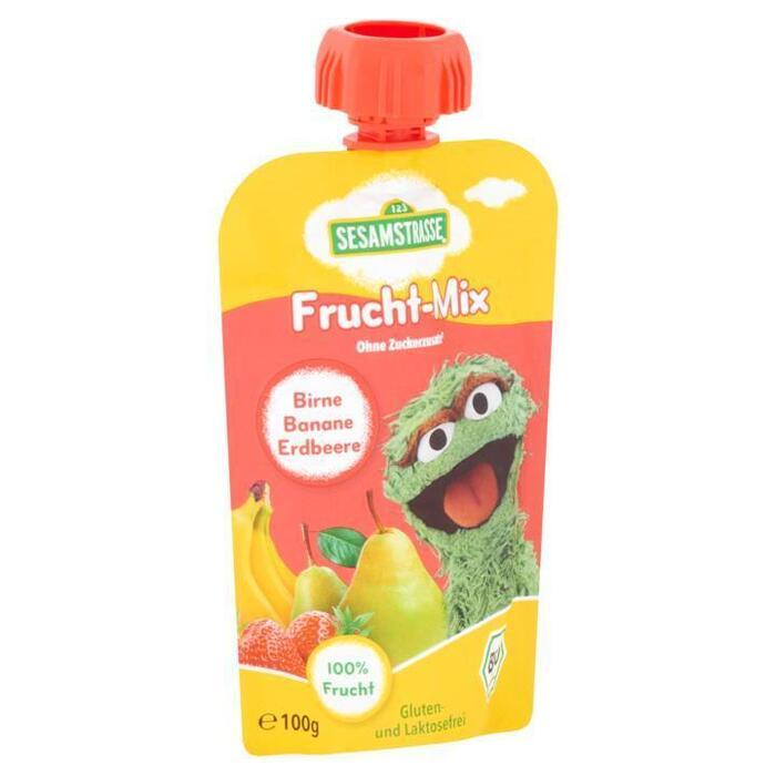 Sesamstraat Oscar Fruit Puree 100g (100g)