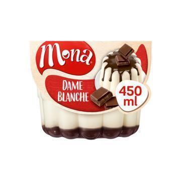 Luchtige Dame Blanche pudding (bak, 45cl)