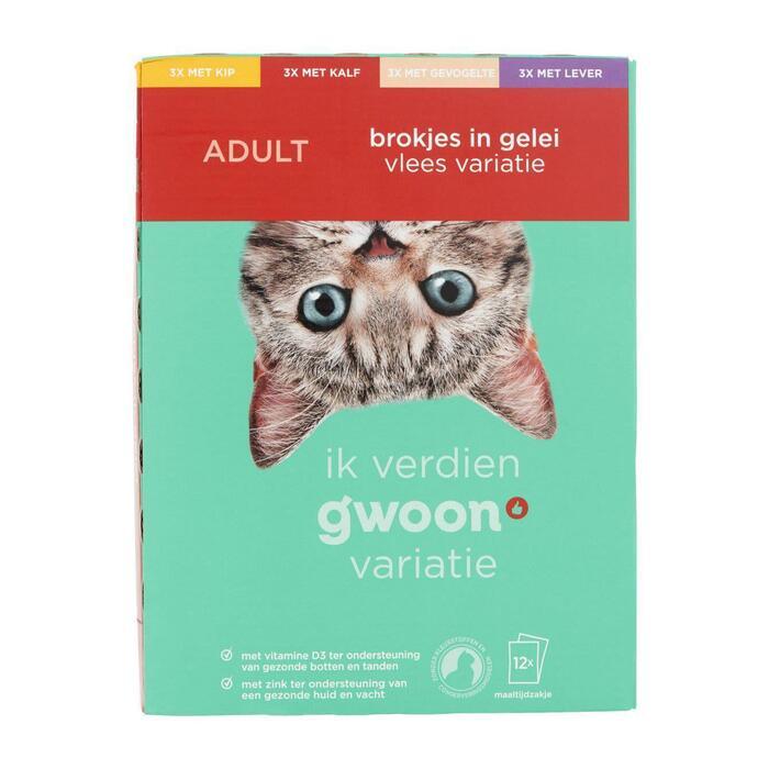 g'woon Variatie vlees adult