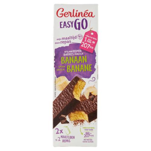 Gerlinéa Easy Go Banaan 2 x 58 g (58g)