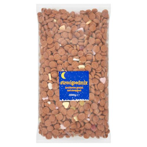 Strooigoedmix Kruidnoten Gemixt met Snoepgoed 3 kg (3kg)