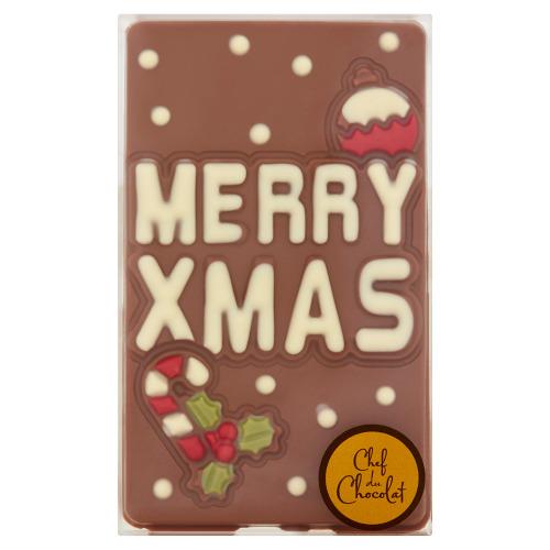 Chef du Chocolat Merry X-mas 150 g (150g)