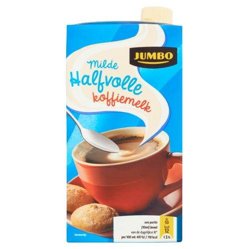 Jumbo Milde Halfvolle Koffiemelk 465ml (46.5cl)