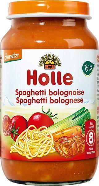 Spaghetti bolognese v.a. 8mnd (220g)