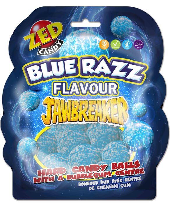 Jawbreakers Shape bag blue raspberry (16 × 132g)