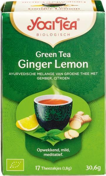 Green Tea Ginger Lemon (17 zakjes) (builtje, 1.8g)