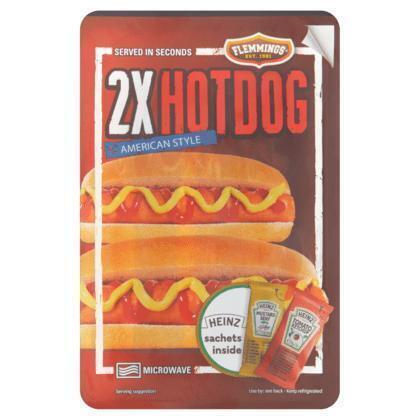 Flemmings Hotdog duo (230g)