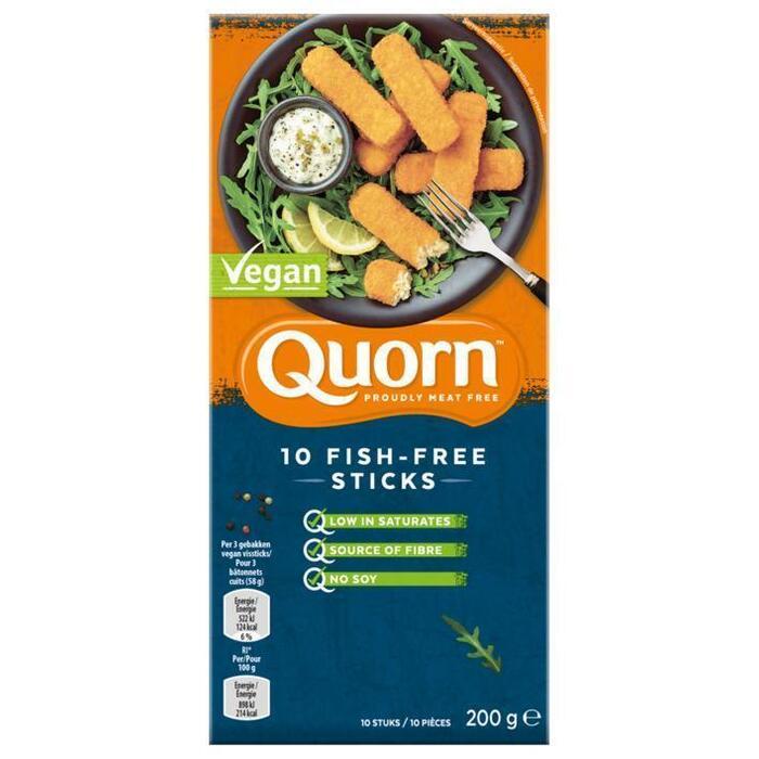 Quorn 10 Fish-Free Sticks (200g)