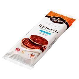 Continental Bakeries Rijstwafels Melkchocolade 3 x 3 Stuks 150 g (Stuk, 150g)