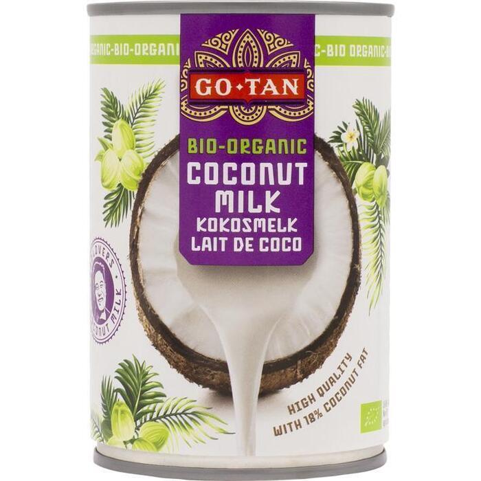 Go-Tan Kokosmelk Biologisch (40cl)