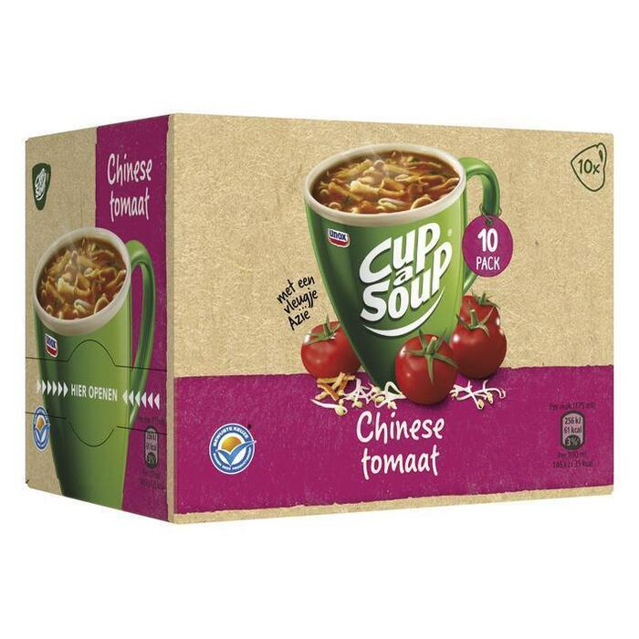 Cup-A-Soup Chinese Tomaat 10 x 17g (10 × 175ml)