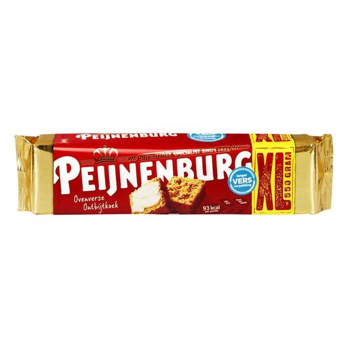 Peijnenburg Ovenverse Naturel Ontbijtkoek 550 g (Stuk, 18 × 550g)
