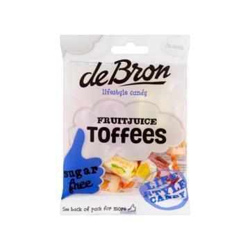 Fruitjuice Toffees (zak, 90g)