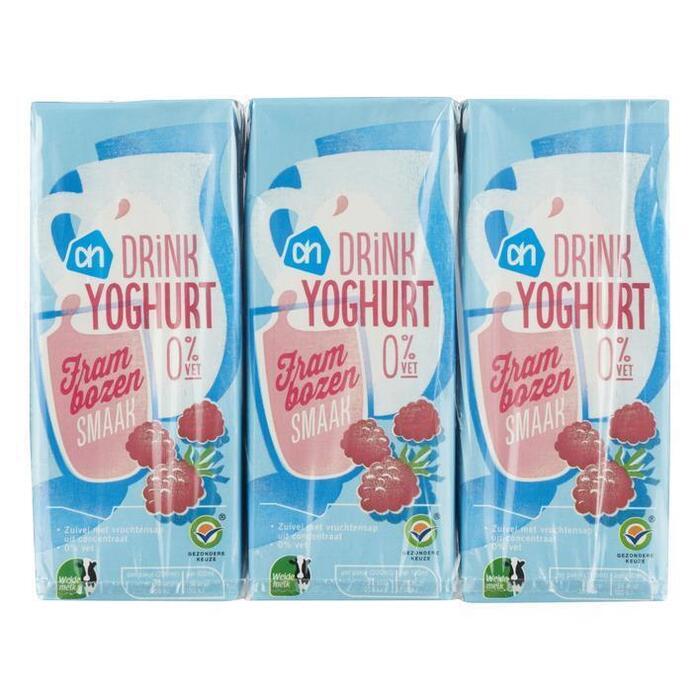 AH Drinkyoghurt frambozen (6 × 200ml)