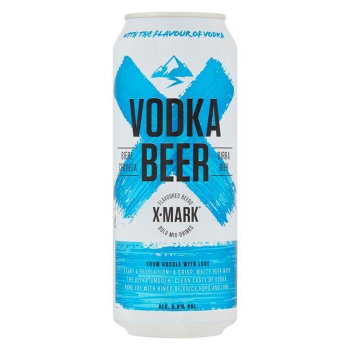 X-Mark Vodka beer (flavoured) can 500ml (33cl)