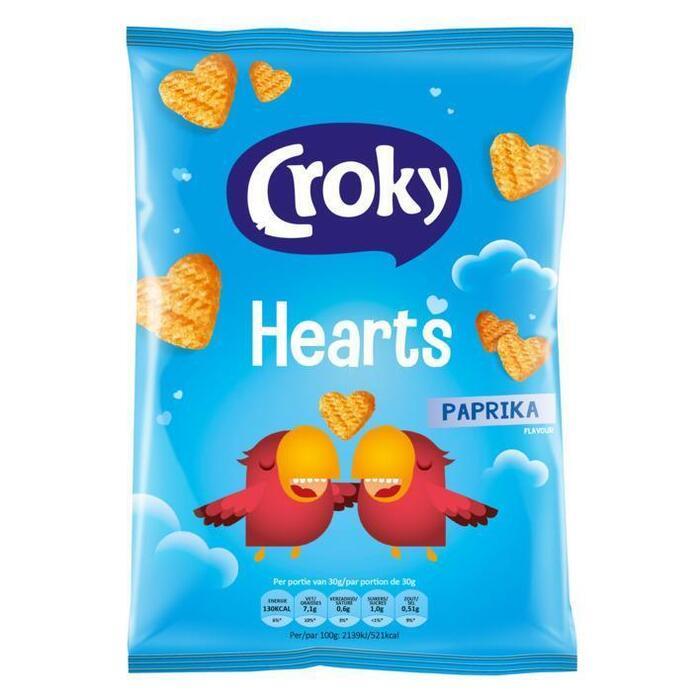 Croky Hearts Paprika (80g)