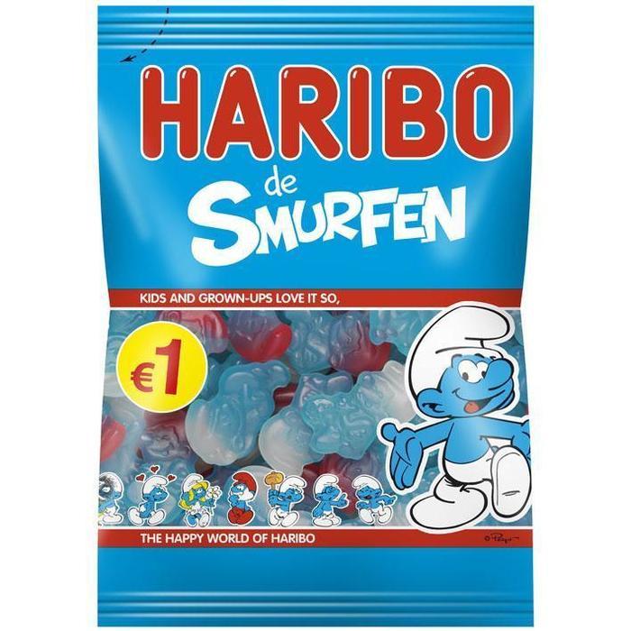 Haribo Smurfen (200g)