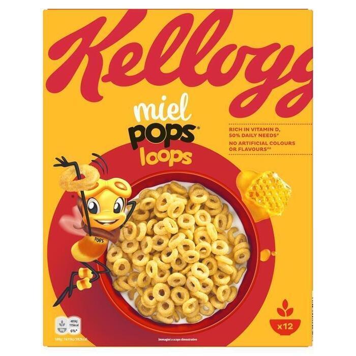 Honey Pops Loops (Stuk, 375g)
