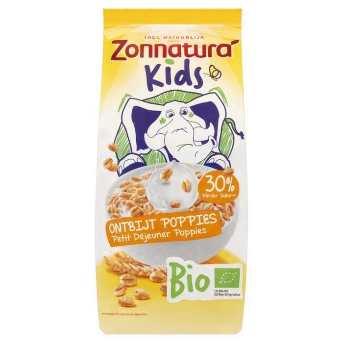 Zonnatura Kids poppies honing (220g)