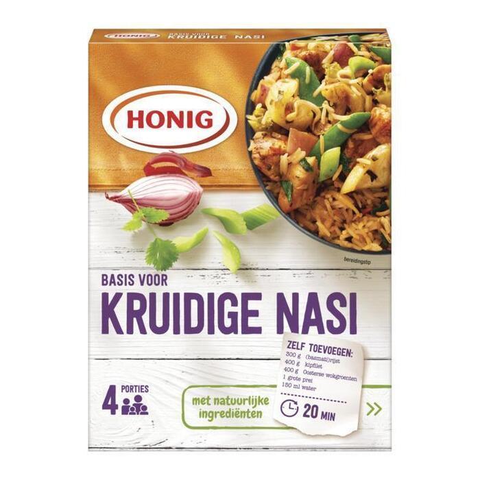 Honig Mix voor kruidige nasi (39g)