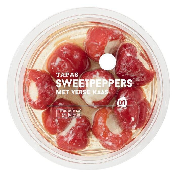 AH Sweetpeppers met verse kaas (175g)