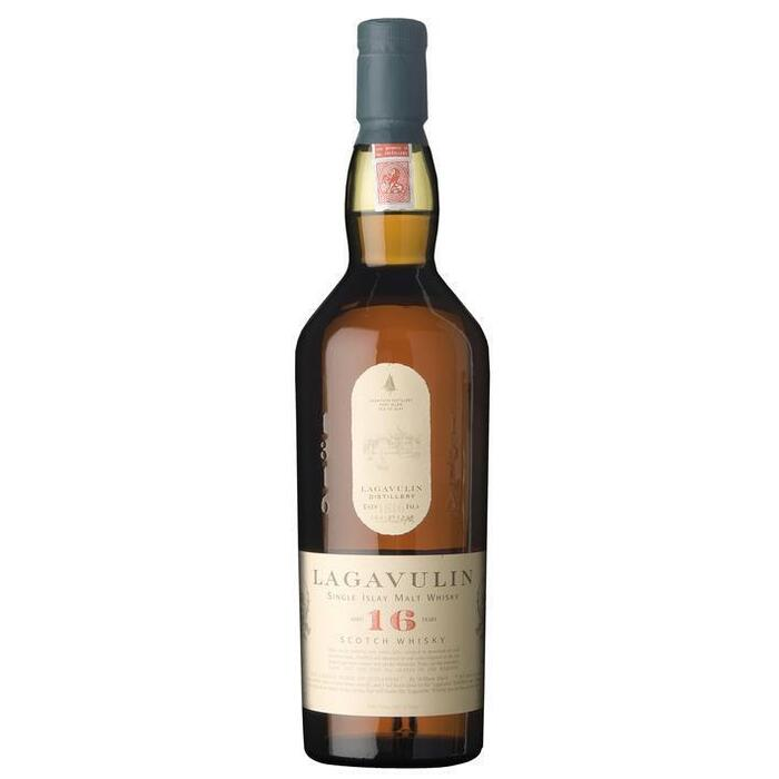 Lagavulin Scotch whisky aged 16 years (rol, 70 × 0.7L)