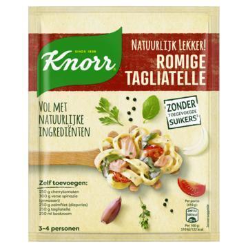 Knorr Mix natuurlijk romige tagliatelle (36g)