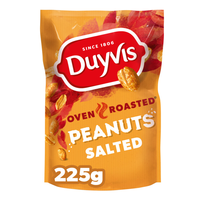 Oven Roasted Peanuts Original (Stuk, 225g)