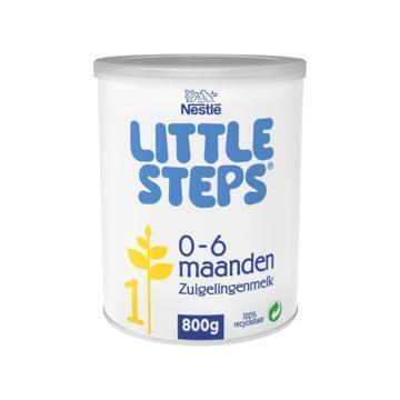 LITTLE STEPS® 1 Zuigelingenmelk Standaard 0+ mnd 800 g (800g)