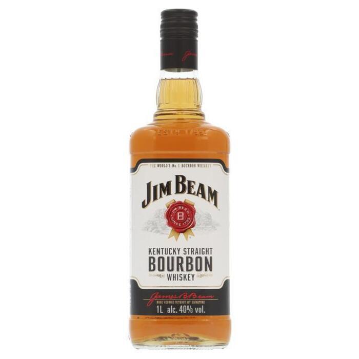 Jim Beam Kentucky straight bourbon whiskey (rol, 1L)