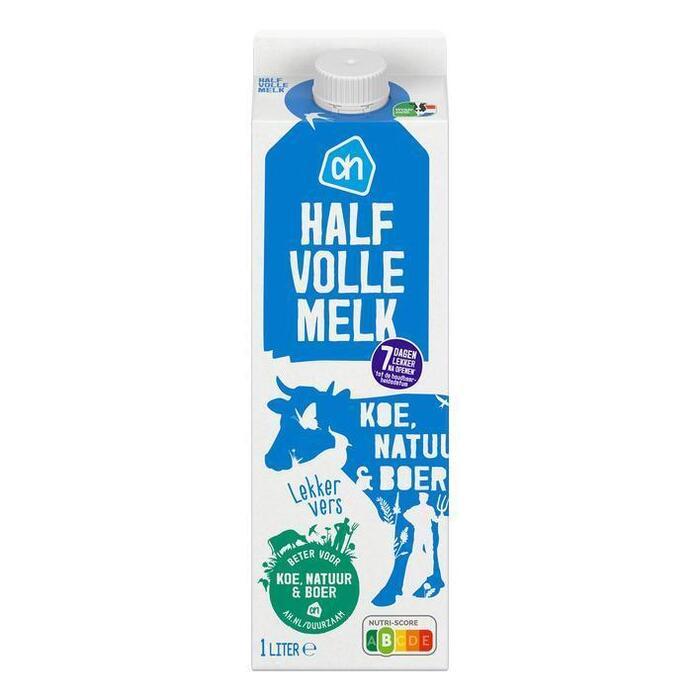 AH Halfvolle melk (1L)