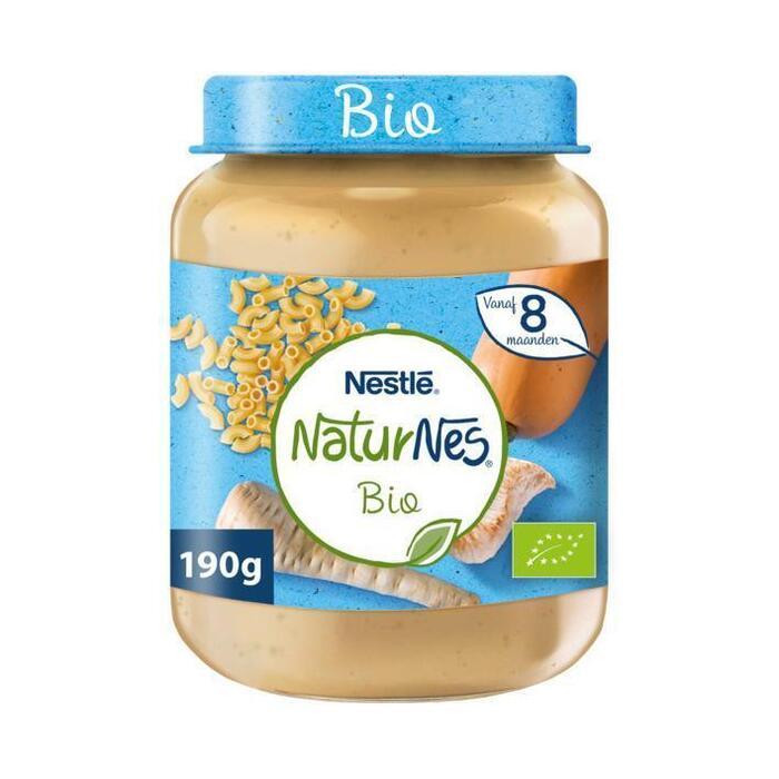 NaturNes Volkoren pasta kalkoen 8+ m babyvoeding (190g)
